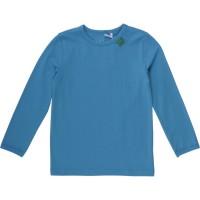 Vorschau: Bio Langarmshirt - tolles dehnbares Basic Shirt - blau