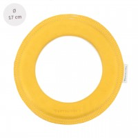 Kleiner super weicher Wurfring LOOP Frisbee gelb-honey