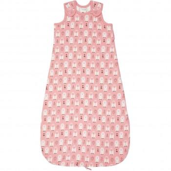 Warmer  Baby  Schlafsacke  Schneeeule  in  rosa