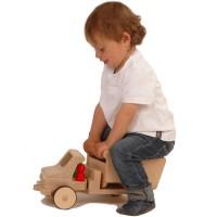 Vorschau: Grundmodell lang mit Kippmulde - creamobil