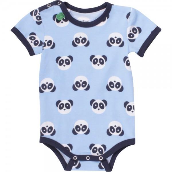 Panda Babybody kurzarm soft