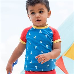 Jungen Bio Palmen T-Shirt