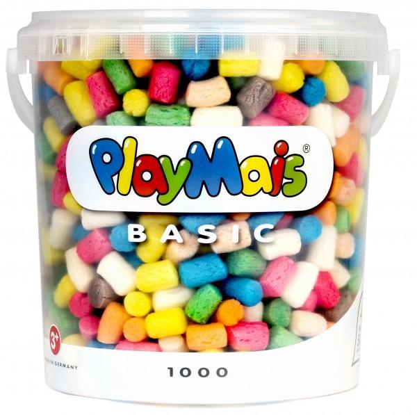 Basic 1000 - Vorteilseimer - für PlayMais Liebhaber o. Gebur
