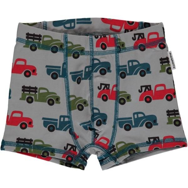 Boxershorts Trucks grau