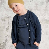 Edle Strickjacke in navy