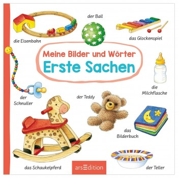 """Erstes Wörterbuch """"Sachen"""" – Babybuch ab 18 Monate"""