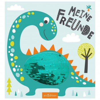 Kindergarten Freundebuch Dino