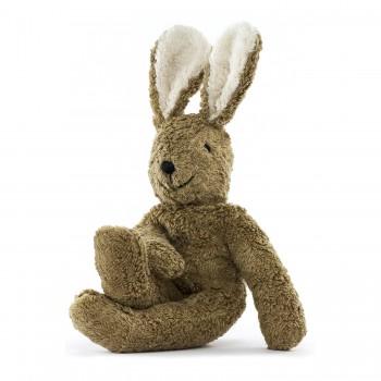 Schlenkertier Hase beige - 30 cm