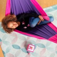 Bio Kinderhängematte Lilly lila ab 3 - 12 Jahre