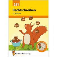 Deutsch Übungsheft Rechtschreibung 1. Klasse