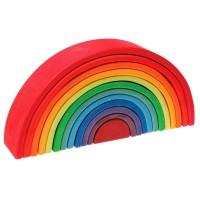Regenbogen gross Grimms 12 teilig 36,5 cm