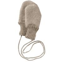 Walk Handschuhe 100% Merino Schurwolle - grau