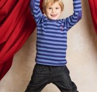 Unisex Bio Jeanshose REBA für Kinder - super robust