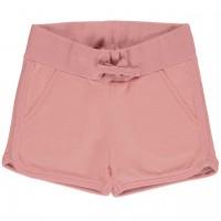 Kurze Sweat Shorts rosa