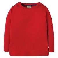 Warmes langarm Shirt rot