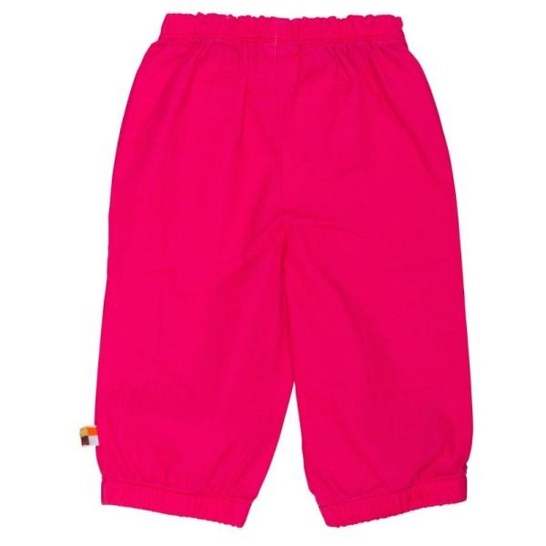 Hose mit Abperleffekt für Sommer & Übergangszeit pink