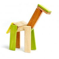 Magnet-Holzbauklötze-Jungle 14-teilig
