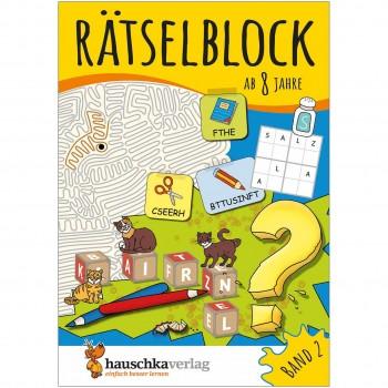 Rätselblock – Rätselspaß für Kinder ab 8 Jahre Bd 2
