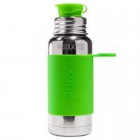 Thermo Trinkflasche Sportverschluss grün 475ml