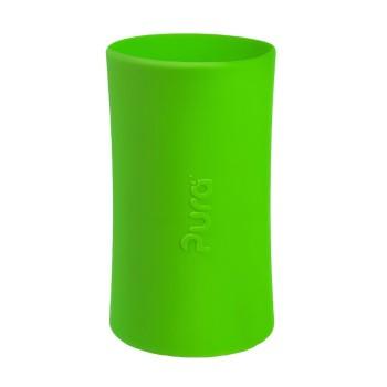 Pura kiki Silikonhülle groß 325 ml – grün