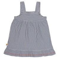Vorschau: Bio Sommer Mädchenkleid marine