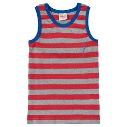 Unterhemd Bio für Jungen rot