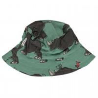 Nashorn Sonnenhut grün-petrol