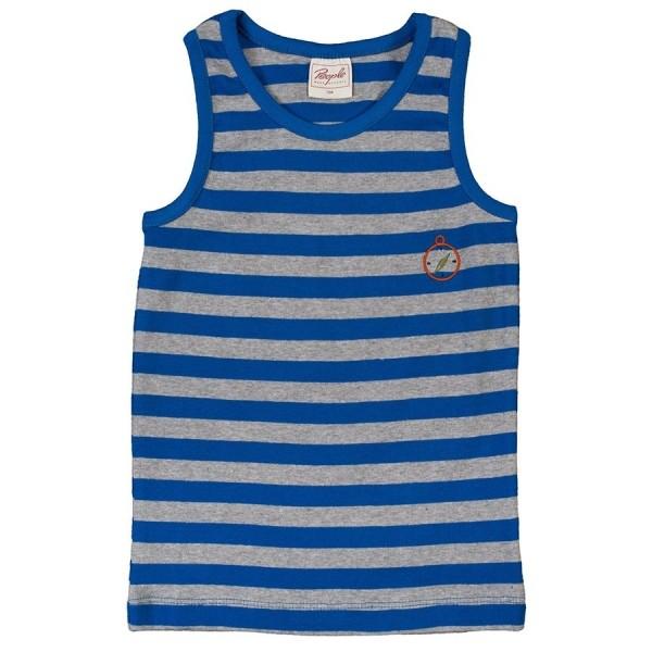 Bio Unterhemd für Jungen blau
