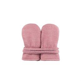 Baby Handschuhe ohne Daumen altrosa