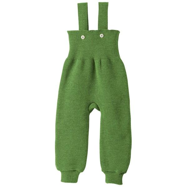 Baby Hose warm hochwertige Wolle grün