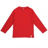 Shirt mit soften Armbündchen sehr elastisch rot - neutral