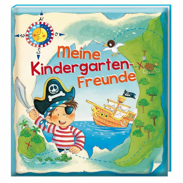 Freundebuch Kindergarten Pirat