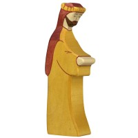 Josef Krippenfigur aus Holz