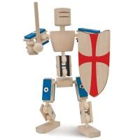 Helden aus Holz Bausatz Ritter ab 3 bis 12 Jahre