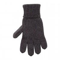 Kinder Handschuhe schiefer-grau Strick