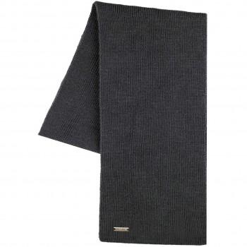 Erwachsenen Schal Wolle anthrazit