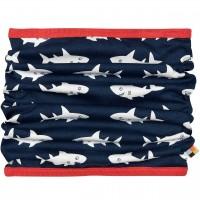 Schlauchschal leicht Hai dunkelblau