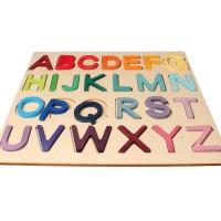 Vorschau: Holzbuchstaben Spiel, im Rahmen
