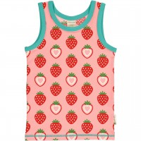 Unterhemd Erdbeere rosa