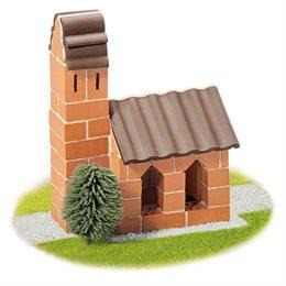 Steinbaukasten Kirche 75tlg 6-12+ Jahre
