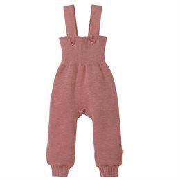 warme hochwertige Trägerhose rosa