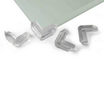 Eckenschutz für Glastische -  4 Stück
