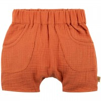 Baby Shorts Musselin papaya-orange