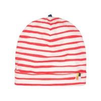 Leichte Mütze Streifen rot