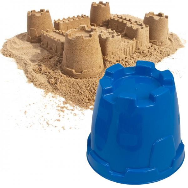 Sandform Burgturm - blau