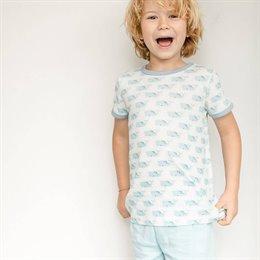 Jungen Pyjama Sommer Wale