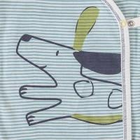 Vorschau: Wickelbody feine Rippe Hundi