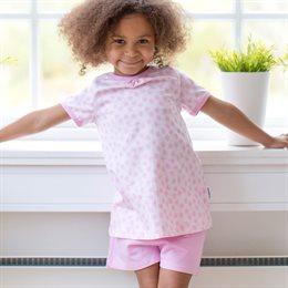 Bio Mädchen Sommer Schlafanzug