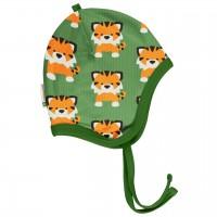 Babymütze leicht mit Ohrenschutz Tiger