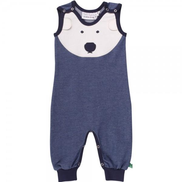 Jeansstrampler Eisbär